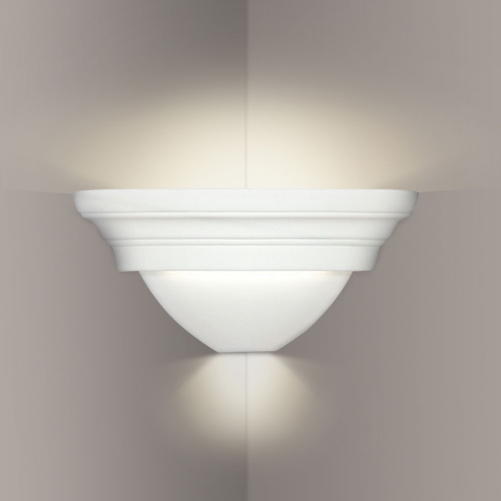 A19 Lighting- 104CNR - Ibiza Corner Sconce in Bisque