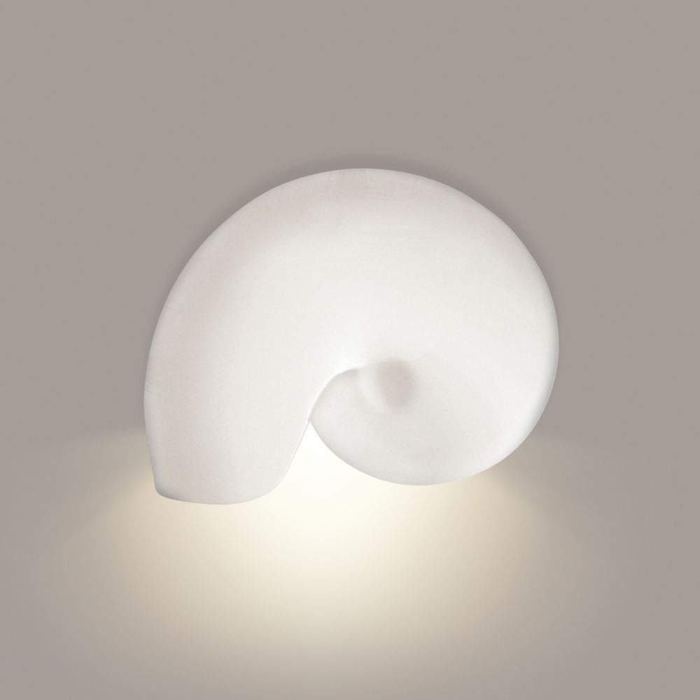 A19 Lighting- 1103D - Nautilus Downlight Wall Sconce in Bisque