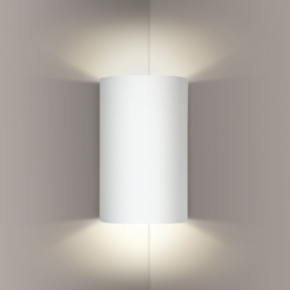 A19 Lighting- 203CNR - Tenos Corner Sconce in Bisque