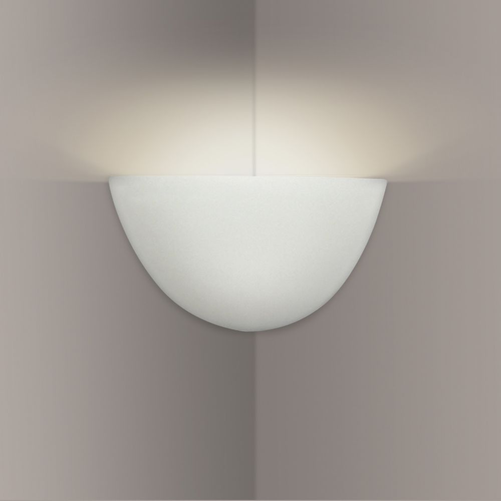 A19 Lighting- 302CNR - Gran Thera Corner Sconce in Bisque