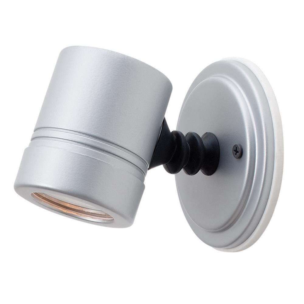 Access Lighting 23025MG-SILV/CLR Myra Wet Location Adjustable Spotlight in Silver