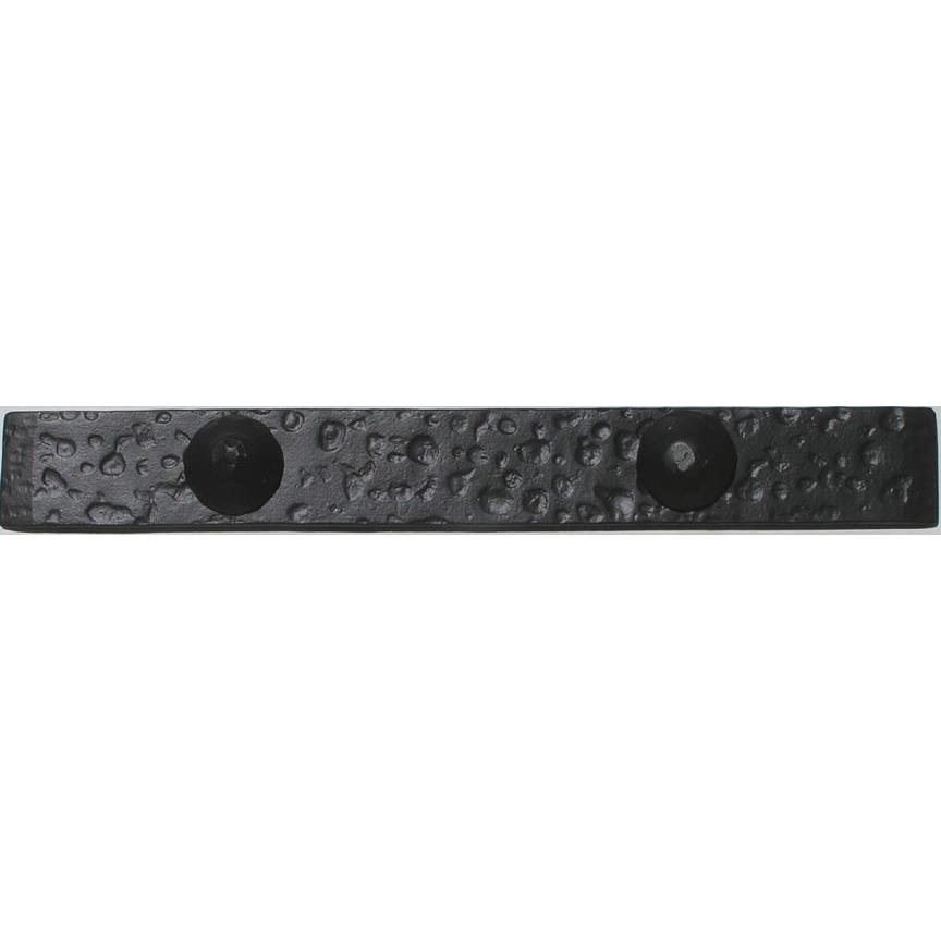 "Agave Ironworks ST009-01 12"" Sonora Distress Flat End Strap in Flat Black"