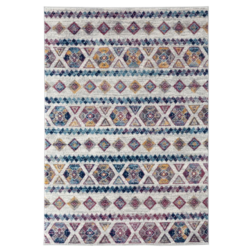 Amer Rugs ALX-80 Alexandria Transitional Gray Power-Loomed Rug 2