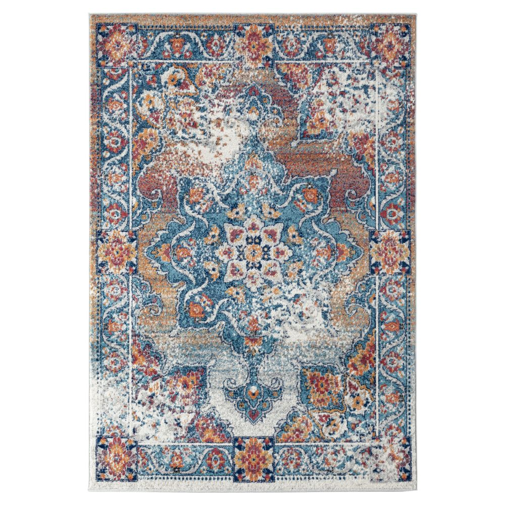 Amer Rugs ALX-82 Alexandria Transitional Gray Power-Loomed Rug 2