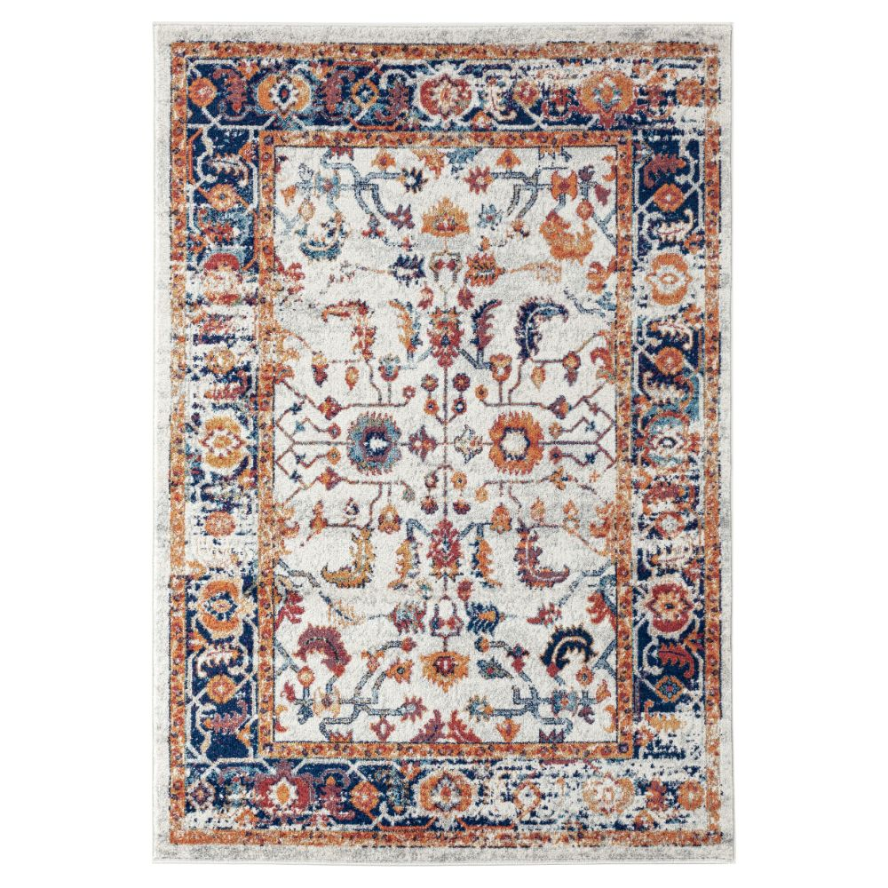 Amer Rugs ALX-84 Alexandria Transitional Ivory Power-Loomed Rug 2