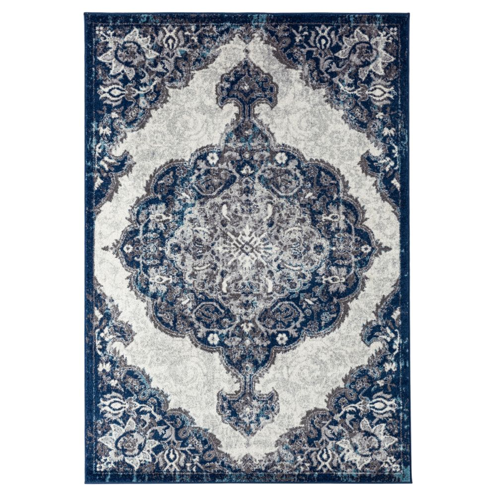 Amer Rugs ALX-86 Alexandria Transitional Ivory Power-Loomed Rug 2