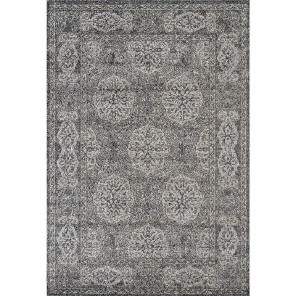 Amer Rugs ALX-11 Alexandria 11 Walnut Power-Loomed Area Rug 2