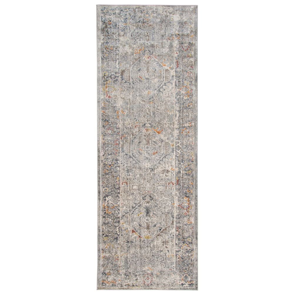AMER Rugs FAI32 Fairmont Transitional Silver Power-Loomed Runner Rug 2