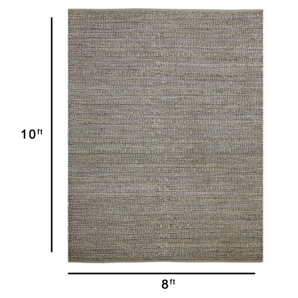 Amer Rugs NAT6 Naturals 2x3 Area Rug in Dark Gray