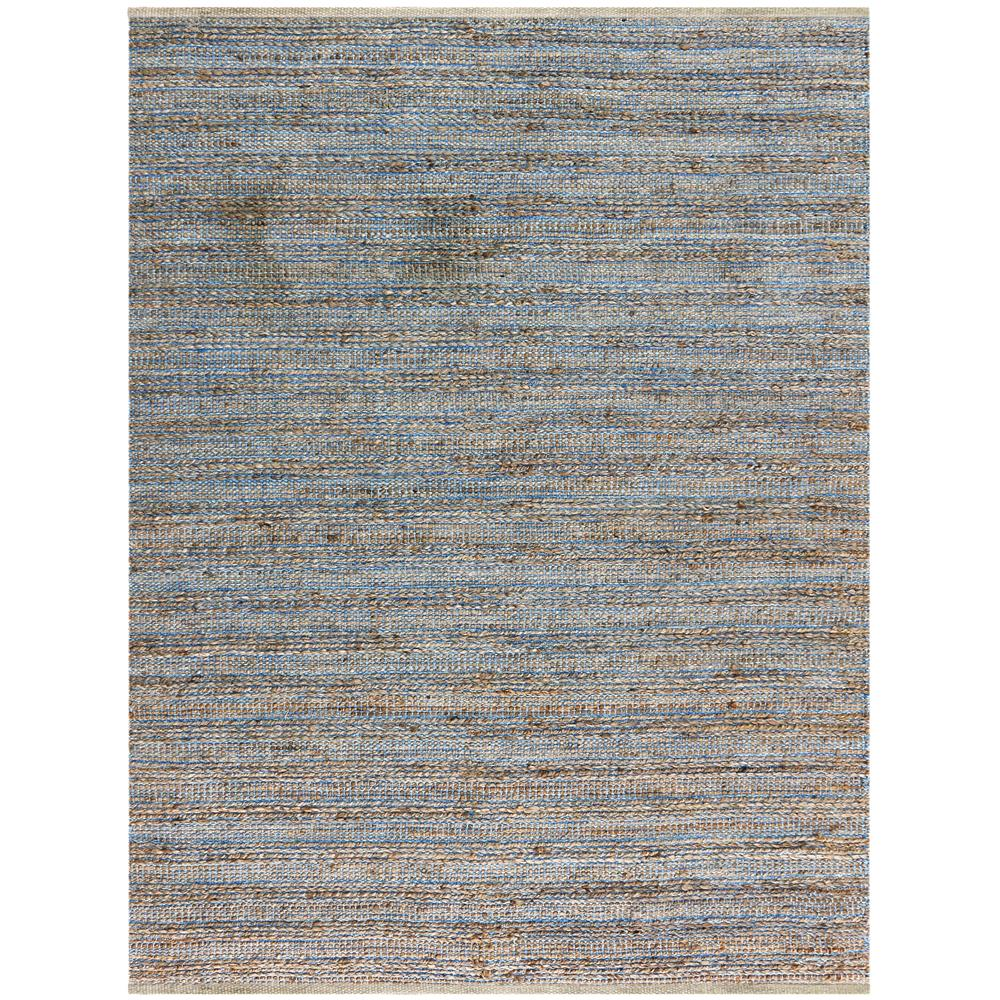 Amer Rugs NAT10203 Naturals Modern Design Flat-Weave Rug in Blue