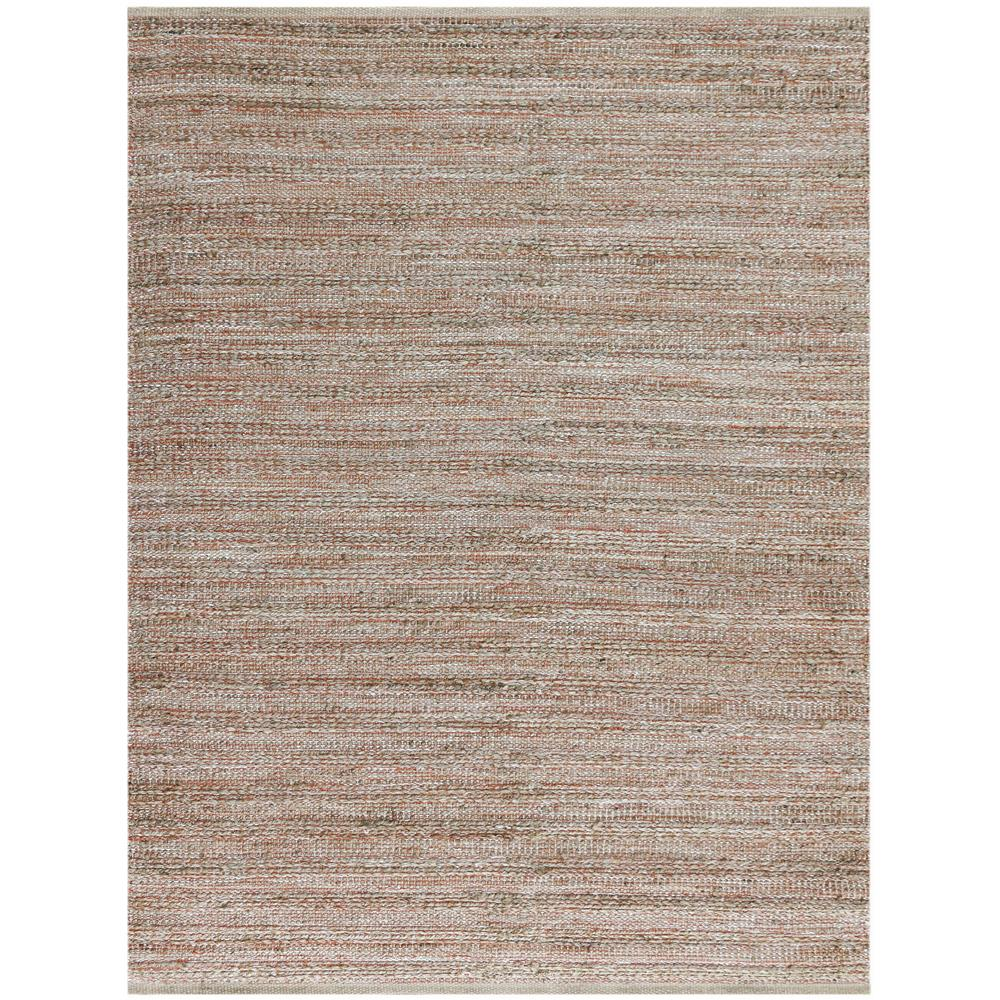 Amer Rugs NAT30305 Naturals Modern Design Flat-Weave Rug in Orange