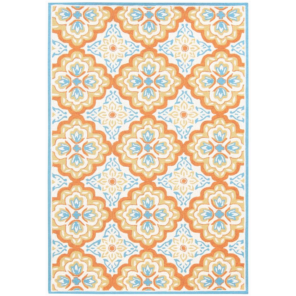 Amer Rugs PAZ-72 Piazza Modern Orange Multi-Purpose Rug 2