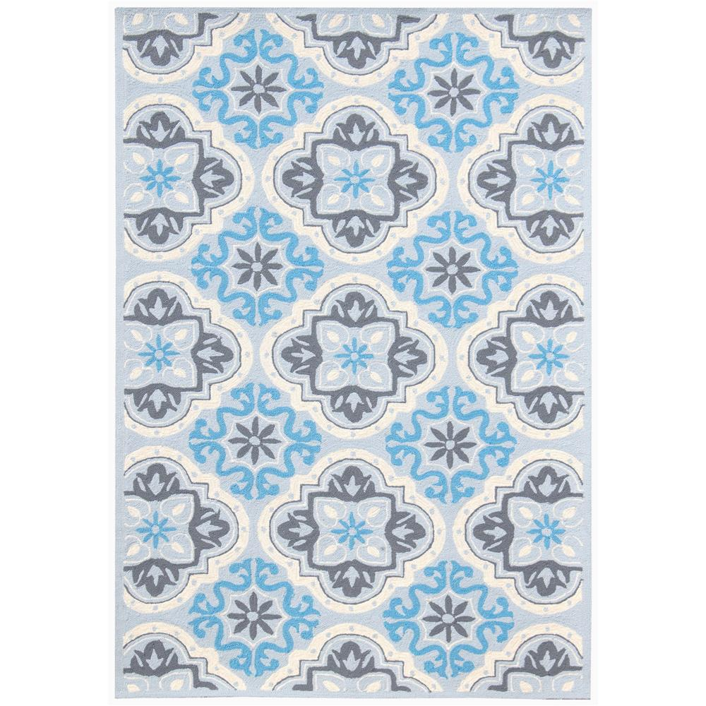 Amer Rugs PAZ-80 Piazza Modern Dawn Blue Multi-Purpose Rug 2