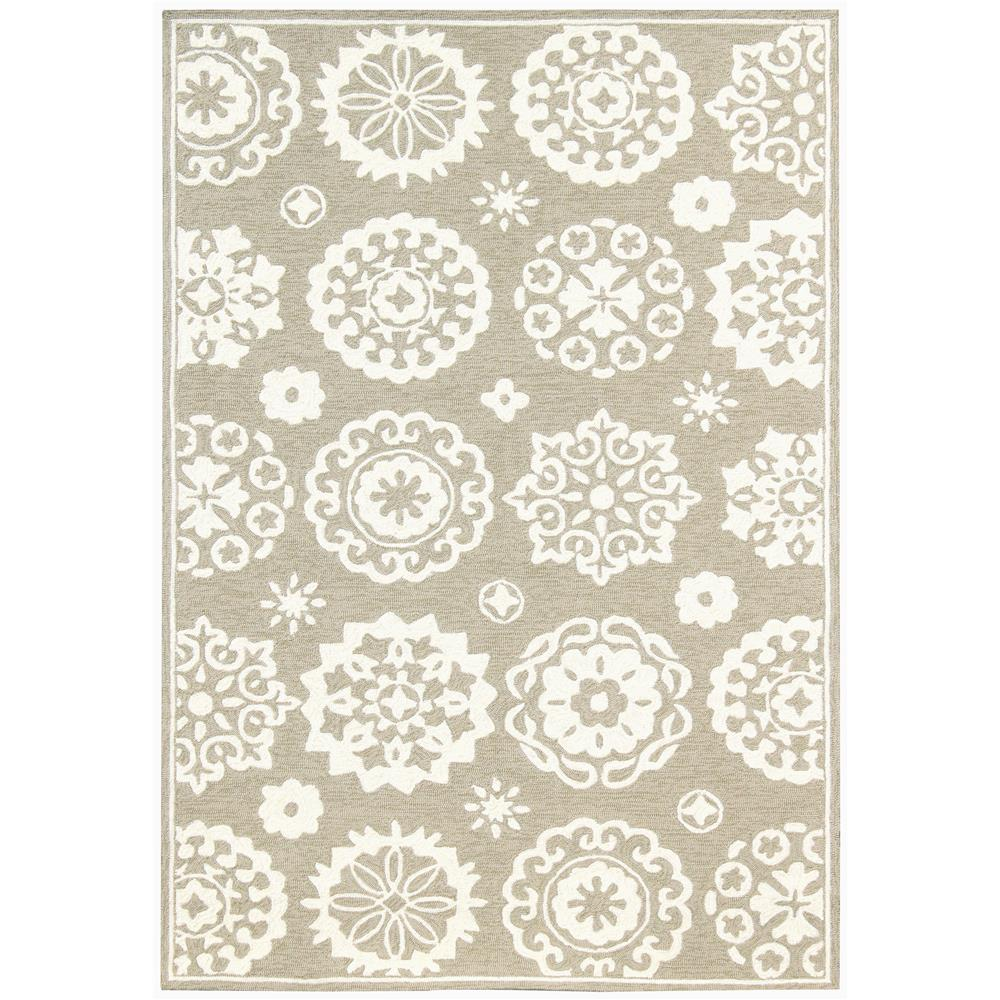 Amer Rugs PAZ-84 Piazza Modern Soft Truffle Multi-Purpose Rug 2