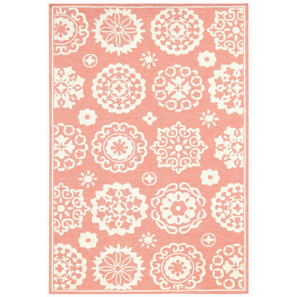 Amer Rugs PAZ-85 Piazza Modern Rose Mellow Multi-Purpose Rug 2