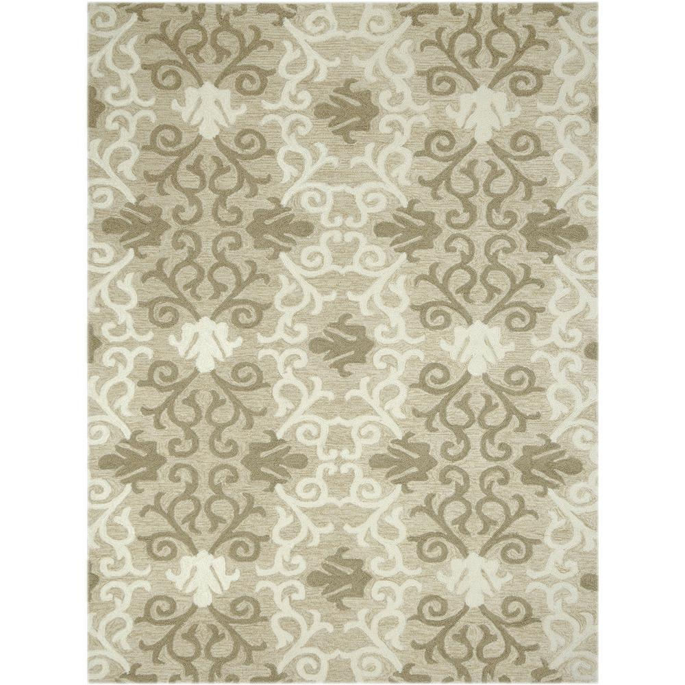Amer Rugs PAZ190406 PIAZZA Modern Design Multi-Purpose Rug in Camel