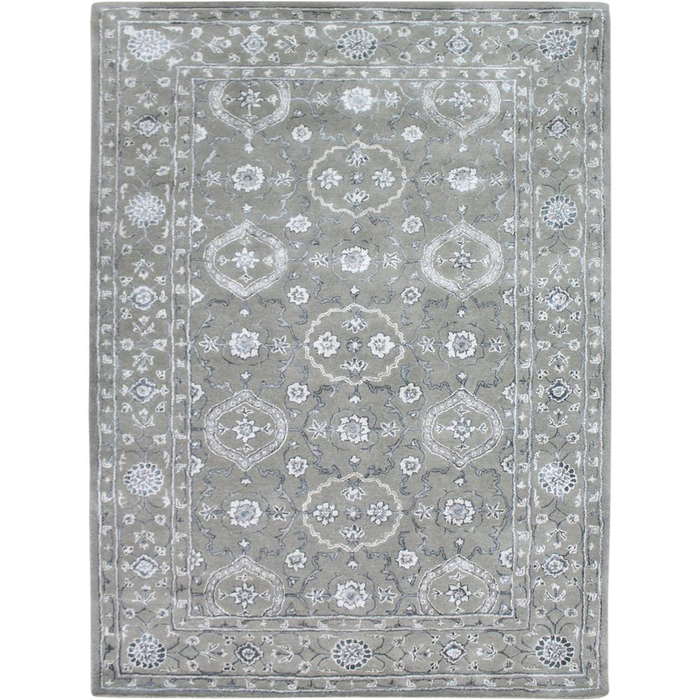 Amer Rugs UR80508 URBAN Transitional Design Hand-Tufted Rug in Silver Sand