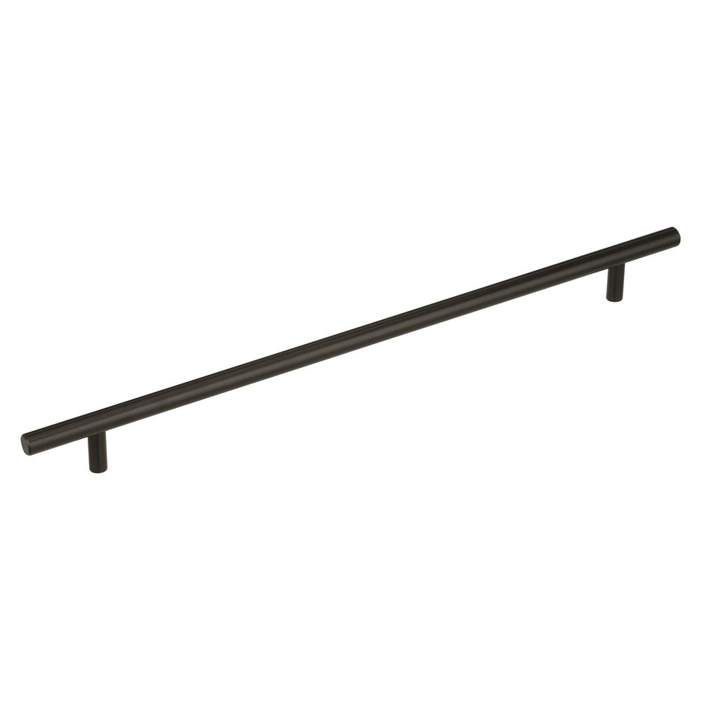Best of Amerock BP19014BBR Bar Pulls 12-5/8 in (320 mm) Center-to-Center Black Bronze Cabinet Pull