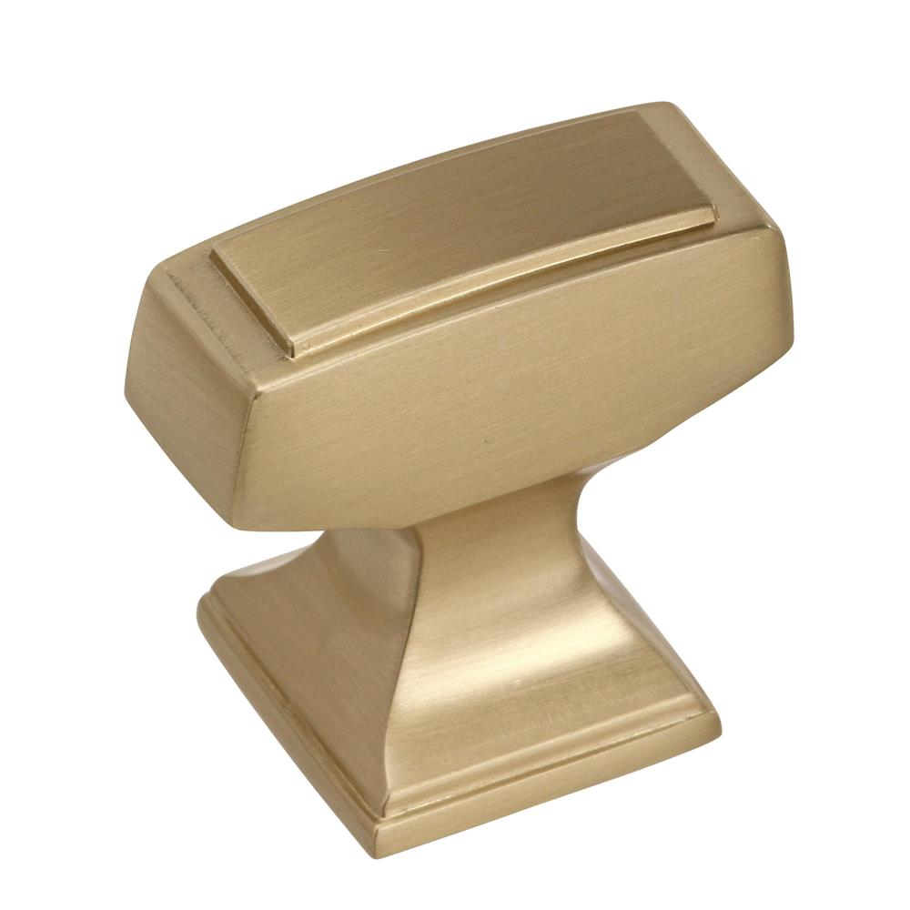 Best of Amerock BP53029BBZ Mulholland 1-1/4 in (32 mm) Length Golden Champagne Cabinet Knob