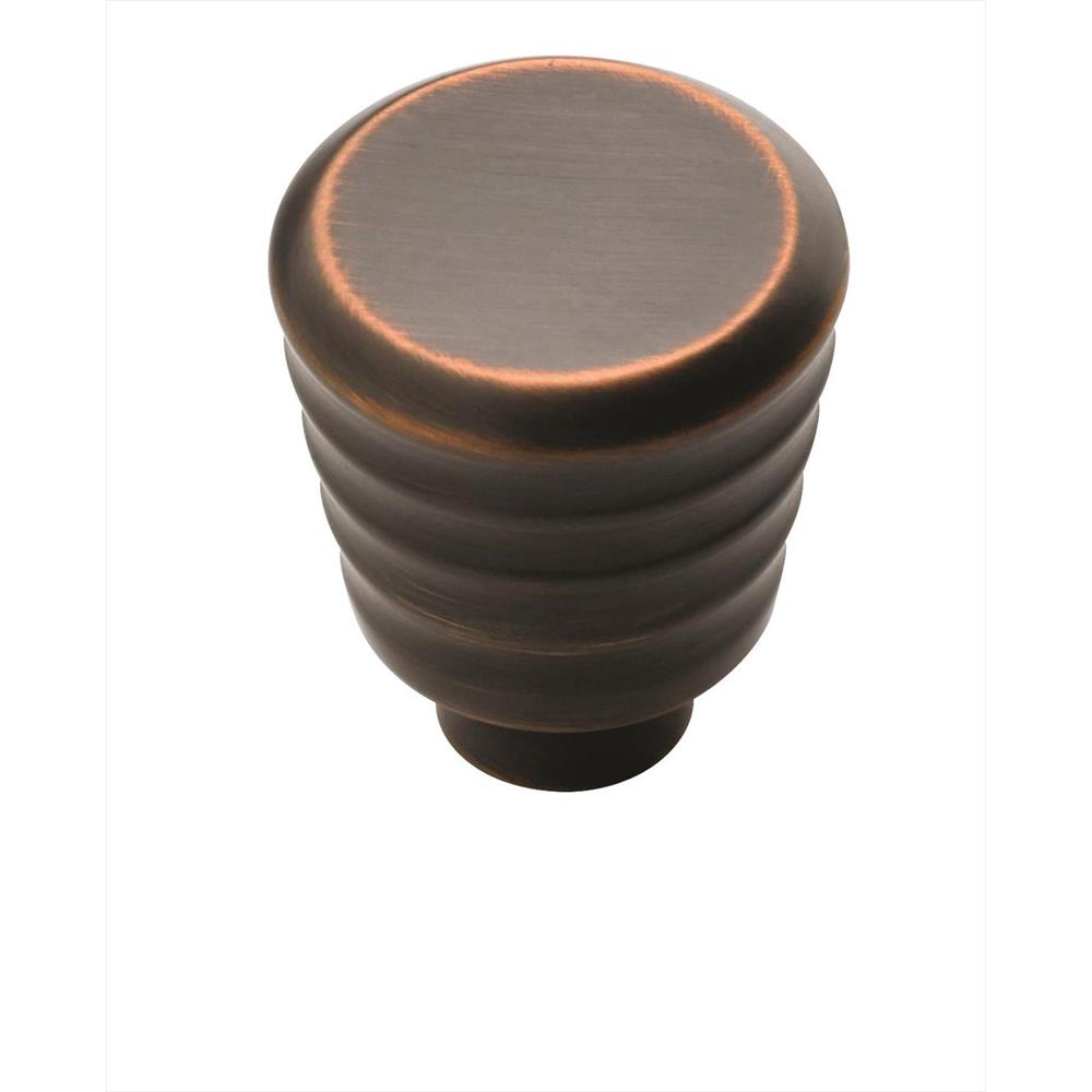 Amerock BP53703ORB Crosley 1 in (25 mm) DIA Cabinet Knob - Oil-Rubbed Bronze