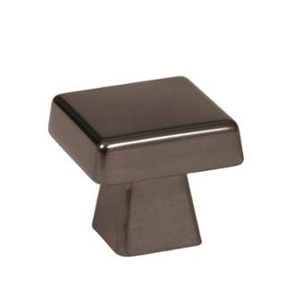 Amerock BP55271GM Blackrock Knob in Gunmetal