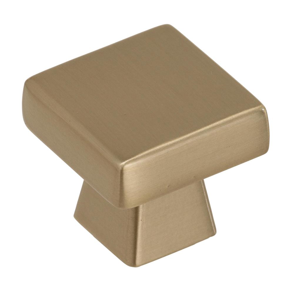 Best of Amerock BP55271BBZ Blackrock 1-3/16 in (30 mm) Length Golden Champagne Cabinet Knob