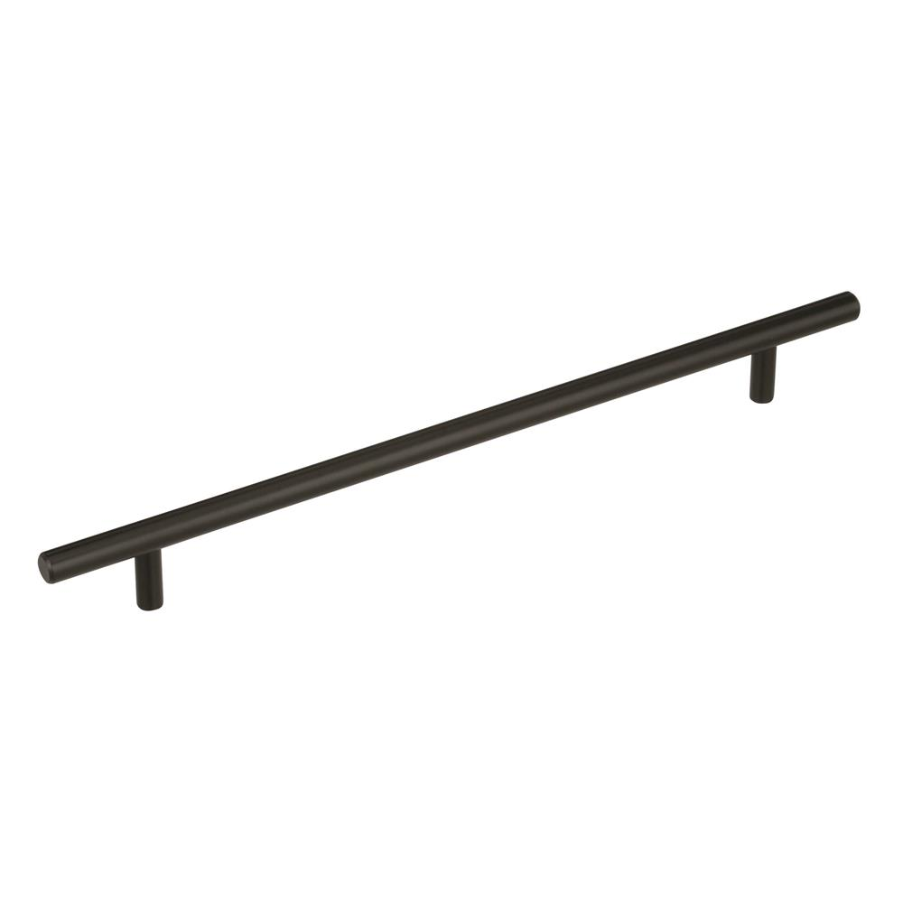 Best of Amerock BP40519BBR Bar Pulls 10-1/16 in (256 mm) Center-to-Center Black Bronze Cabinet Pull