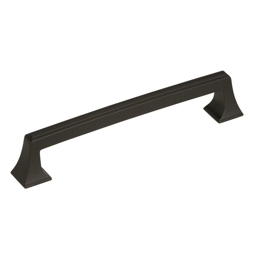 Best of Amerock BP53530BBR Mulholland 6-5/16 in (160 mm) Center-to-Center Black Bronze Cabinet Pull