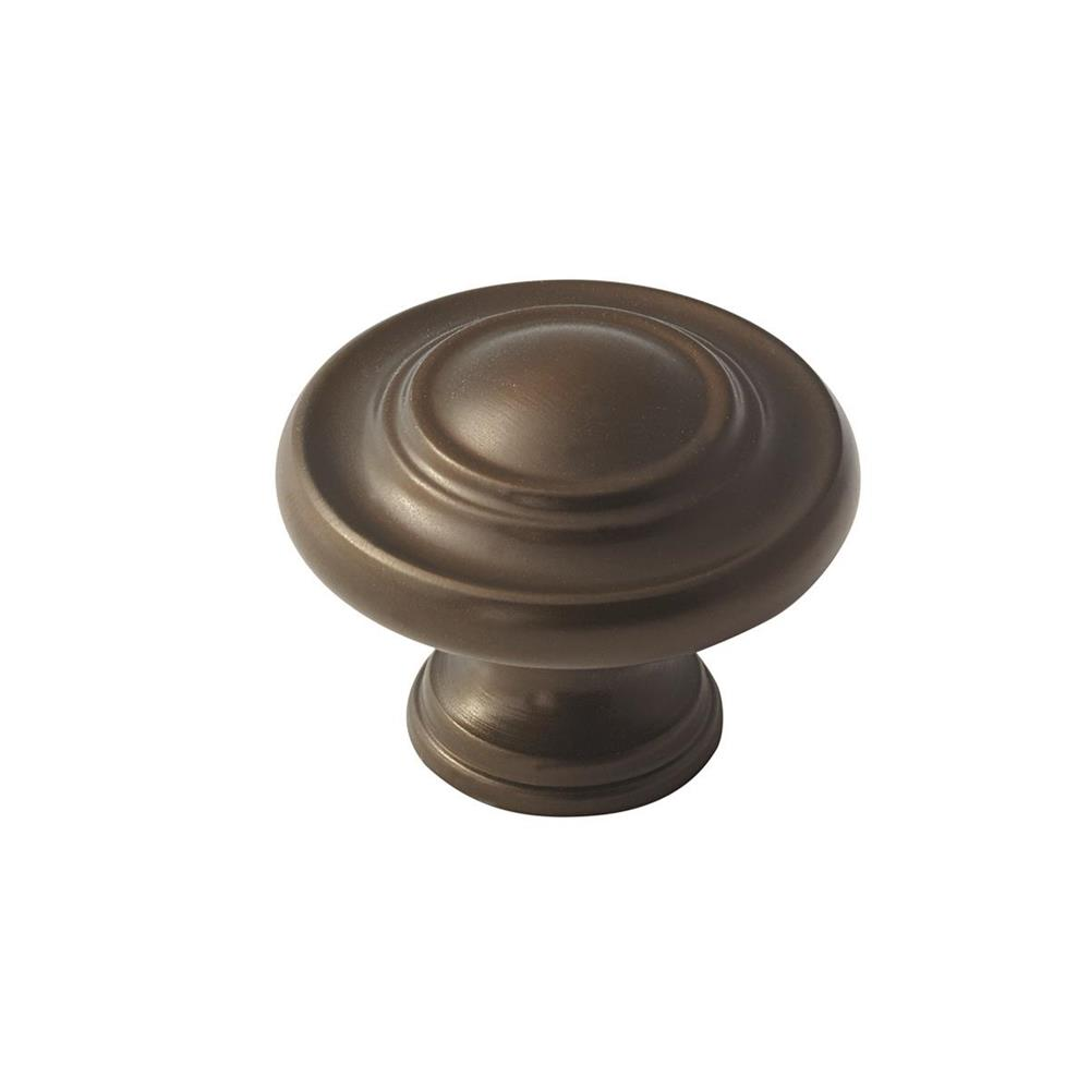 Amerock BP15862CBZ Inspirations 1-3/4 in (44 mm) DIA Cabinet Knob - Caramel Bronze
