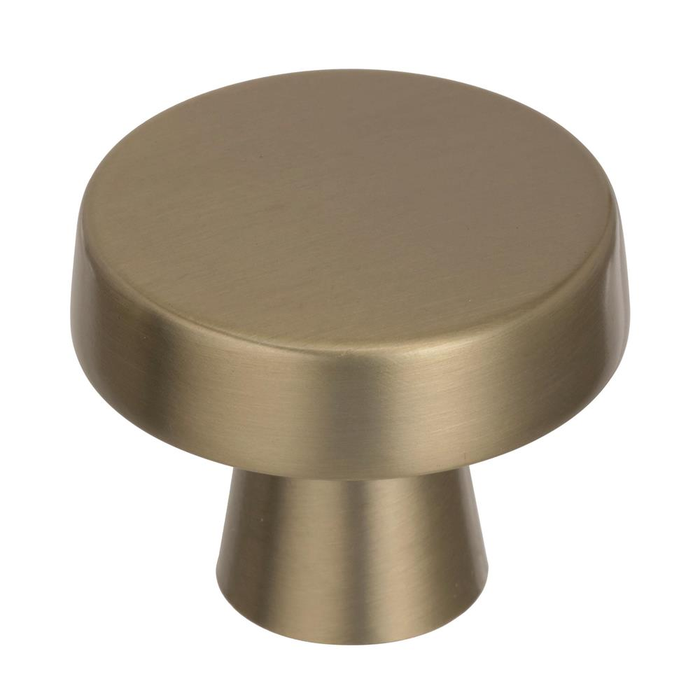 Best of Amerock BP55272BBZ Blackrock 1-3/4 in (44 mm) Diameter Golden Champagne Cabinet Knob