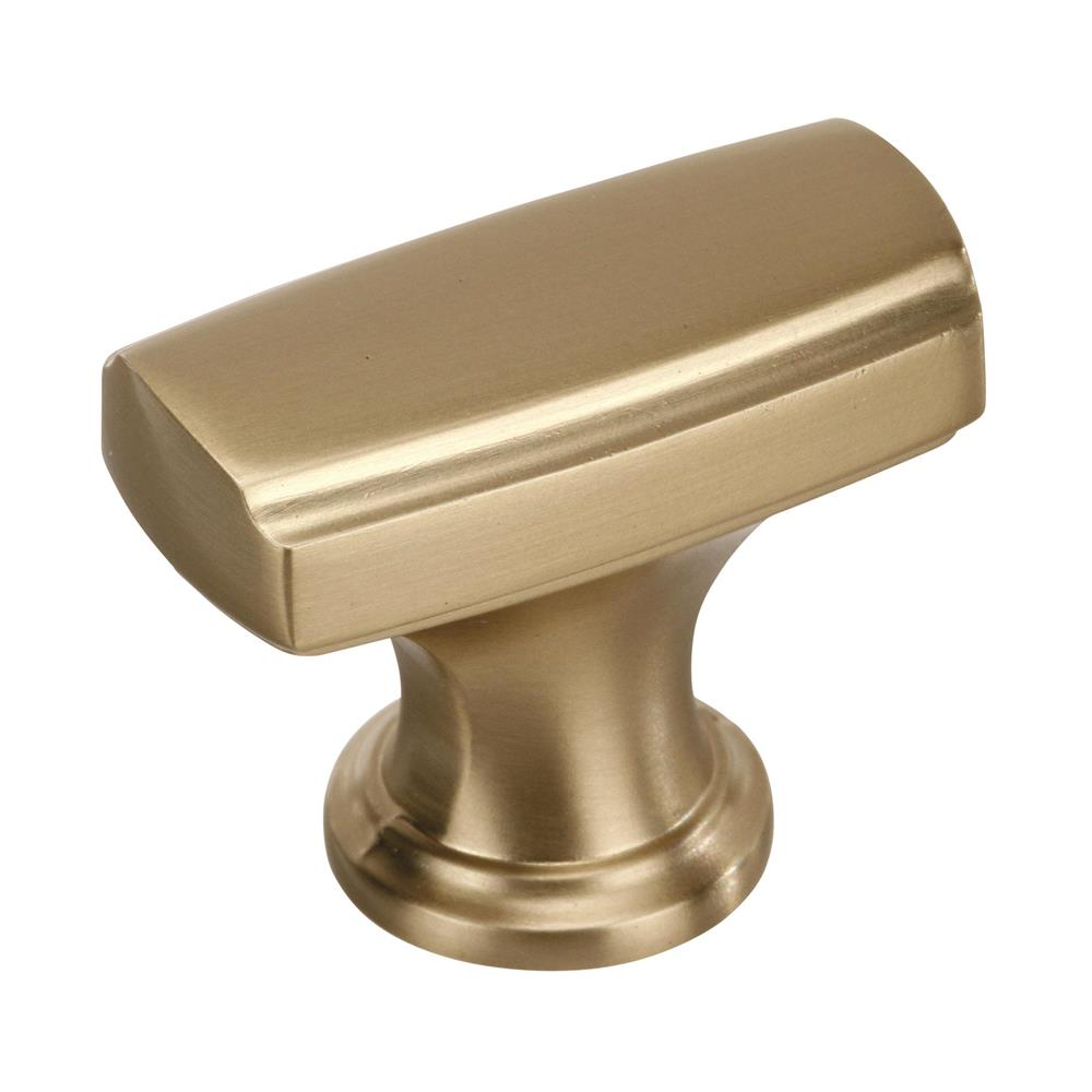 Best of Amerock BP55311BBZ Highland Ridge 1-3/8 in (35 mm) Length Golden Champagne Cabinet Knob