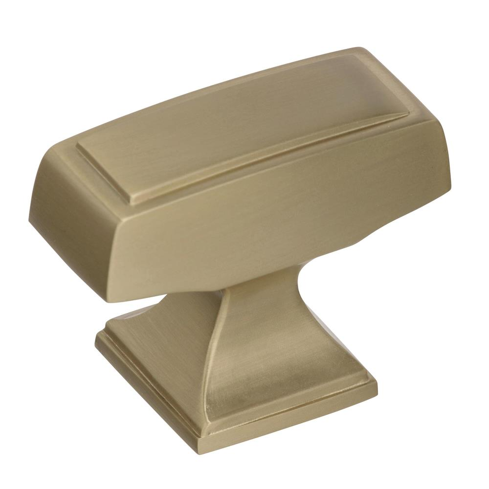 Best of Amerock BP535342BBZ Mulholland 1-1/2 in (38 mm) Length Golden Champagne Cabinet Knob