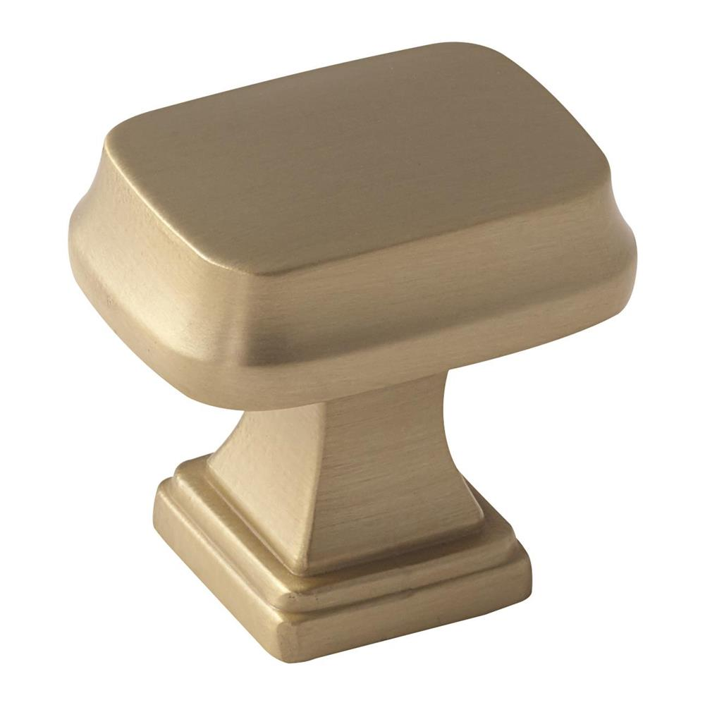 Amerock BP55340BBZ Revitalize Knob in Golden Champagne