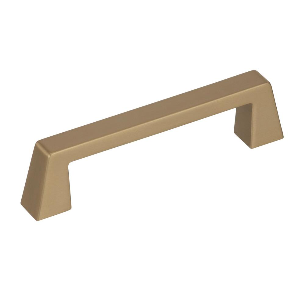 Best of Amerock BP55276BBZ Blackrock 3-3/4 in (96 mm) Center-to-Center Golden Champagne Cabinet Pull