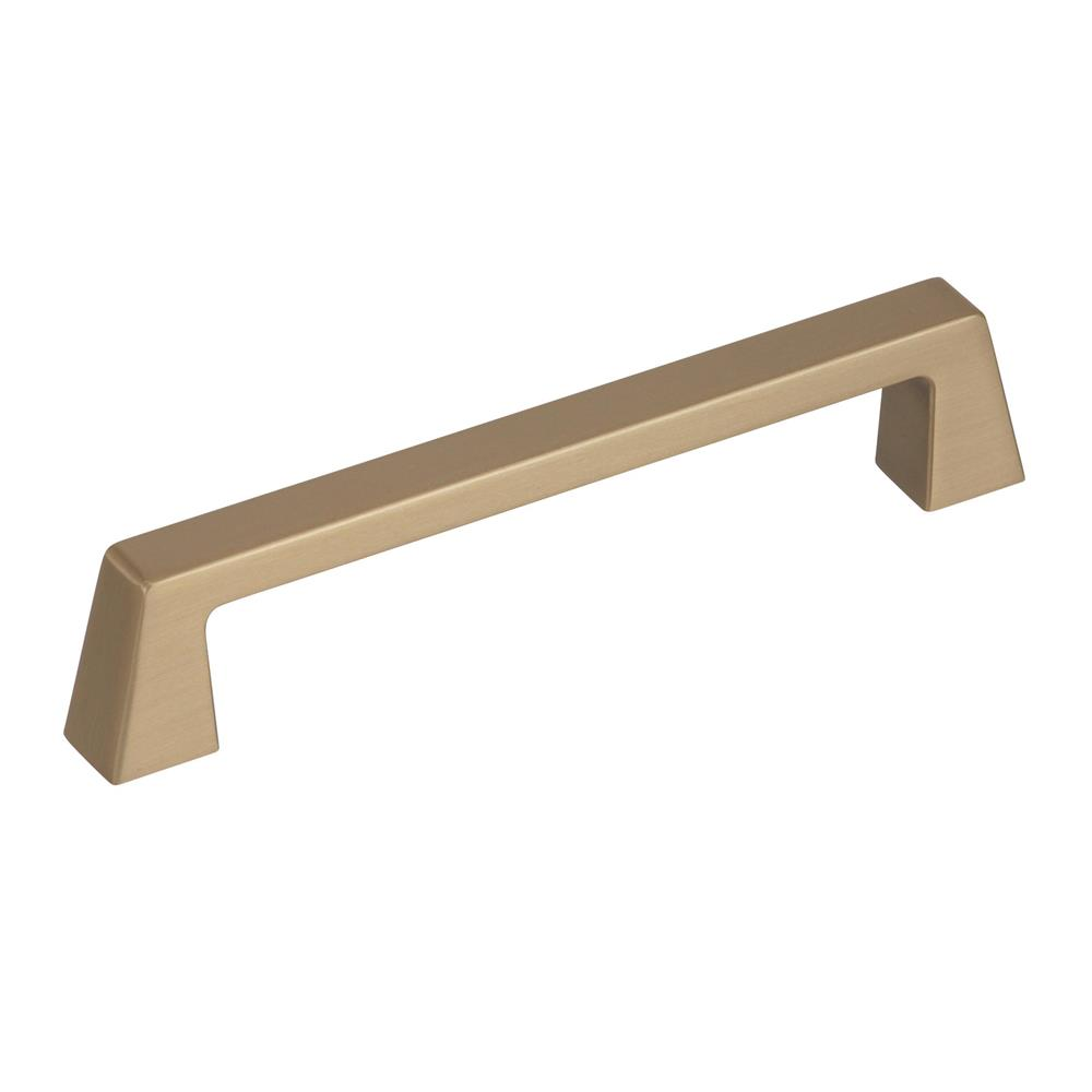 Best of Amerock BP55277BBZ Blackrock 5-1/16 in (128 mm) Center-to-Center Golden Champagne Cabinet Pull