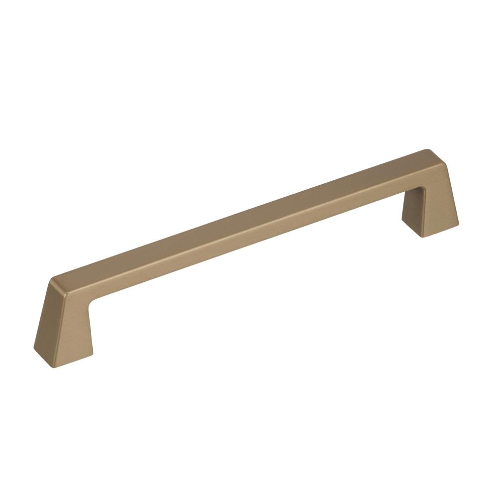 Best of Amerock BP55278BBZ Blackrock 6-5/16 in (160 mm) Center-to-Center Golden Champagne Cabinet Pull
