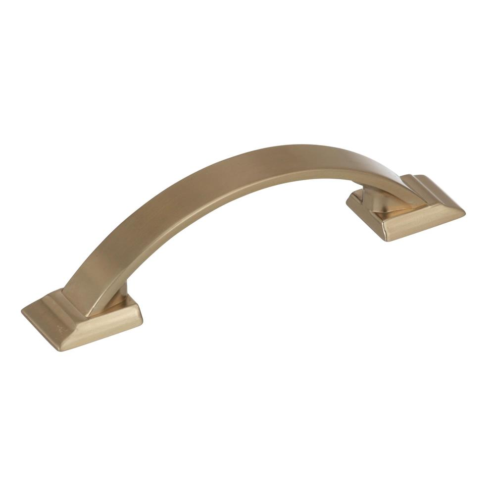 Best of Amerock BP29349BBZ Candler  3 in (76 mm) Center-to-Center Golden Champagne Cabinet Pull