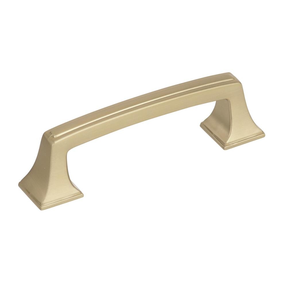 Best of Amerock BP53030BBZ Mulholland 3 in (76 mm) Center-to-Center Golden Champagne Cabinet Pull
