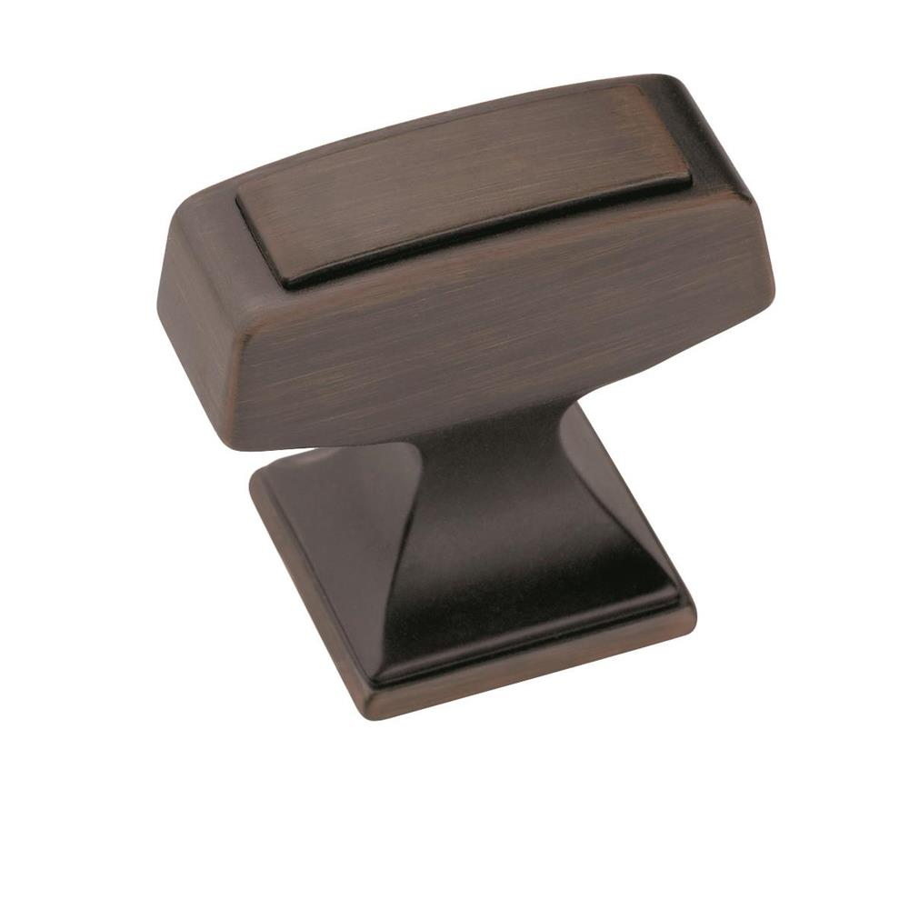 Amerock BP53029GM Mulholland™ Knob in Gunmetal