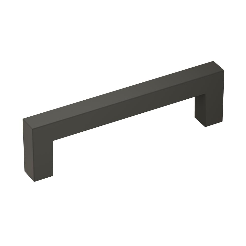 Amerock BP36570FB Monument 3-3/4 in (96 mm) Center-to-Center Matte Black Cabinet Pull