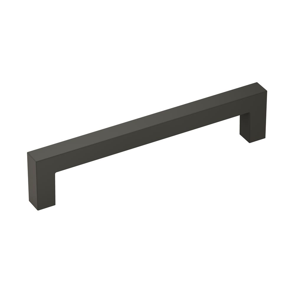 Amerock BP36571FB Monument 5-1/16 in (128 mm) Center-to-Center Matte Black Cabinet Pull