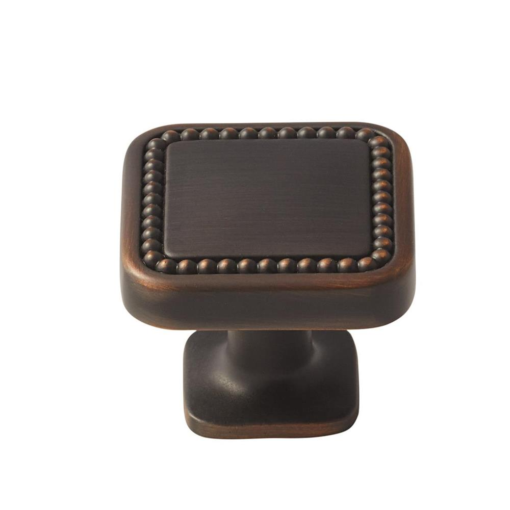 Amerock BP36582ORB Carolyne Knob in Oil-Rubbed Bronze