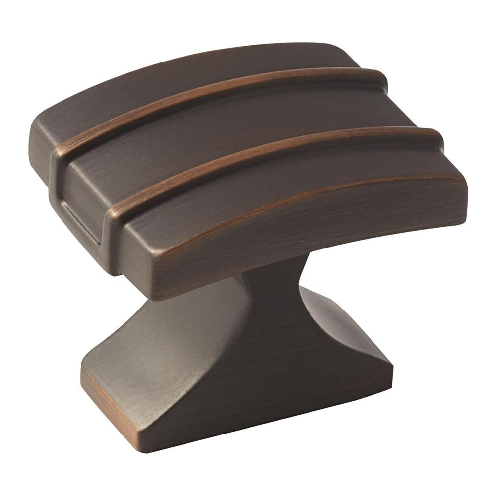 Amerock BP36601ORB Davenport Knob in Oil-Rubbed Bronze