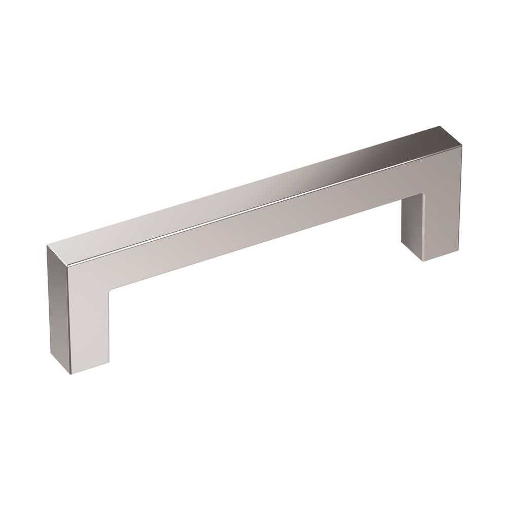 Amerock BP3657026 Monument 3-3/4 in (96 mm) Center-to-Center Polished Chrome Cabinet Pull