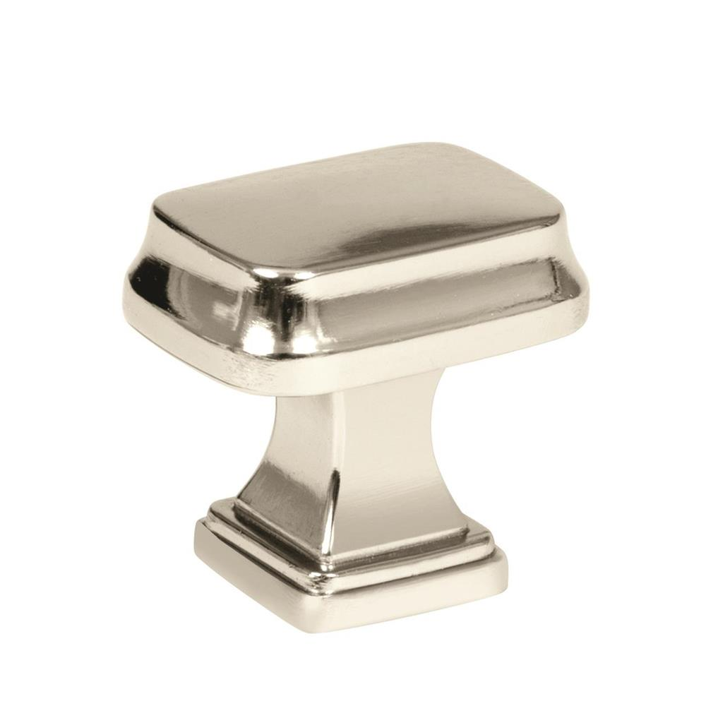Amerock BP55340PN Revitalize Knob in Polished Nickel