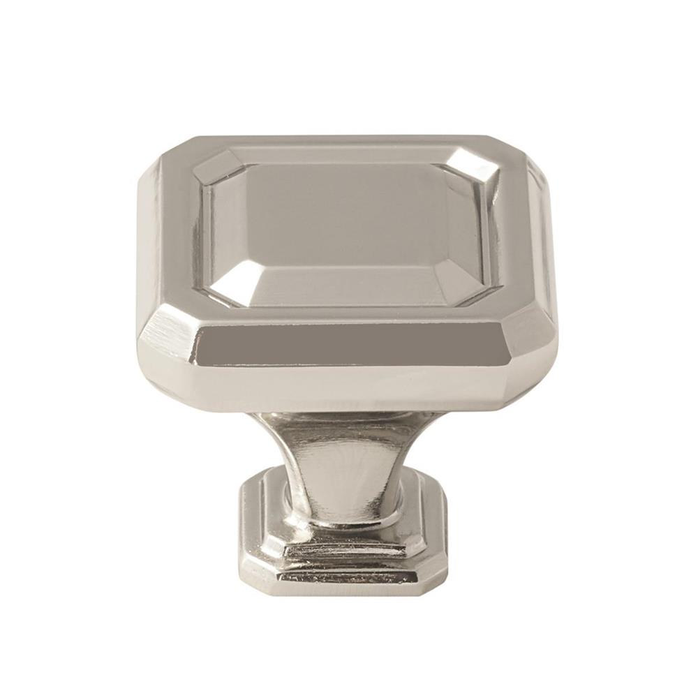 Amerock BP36546PN Wells Knob in Polished Nickel