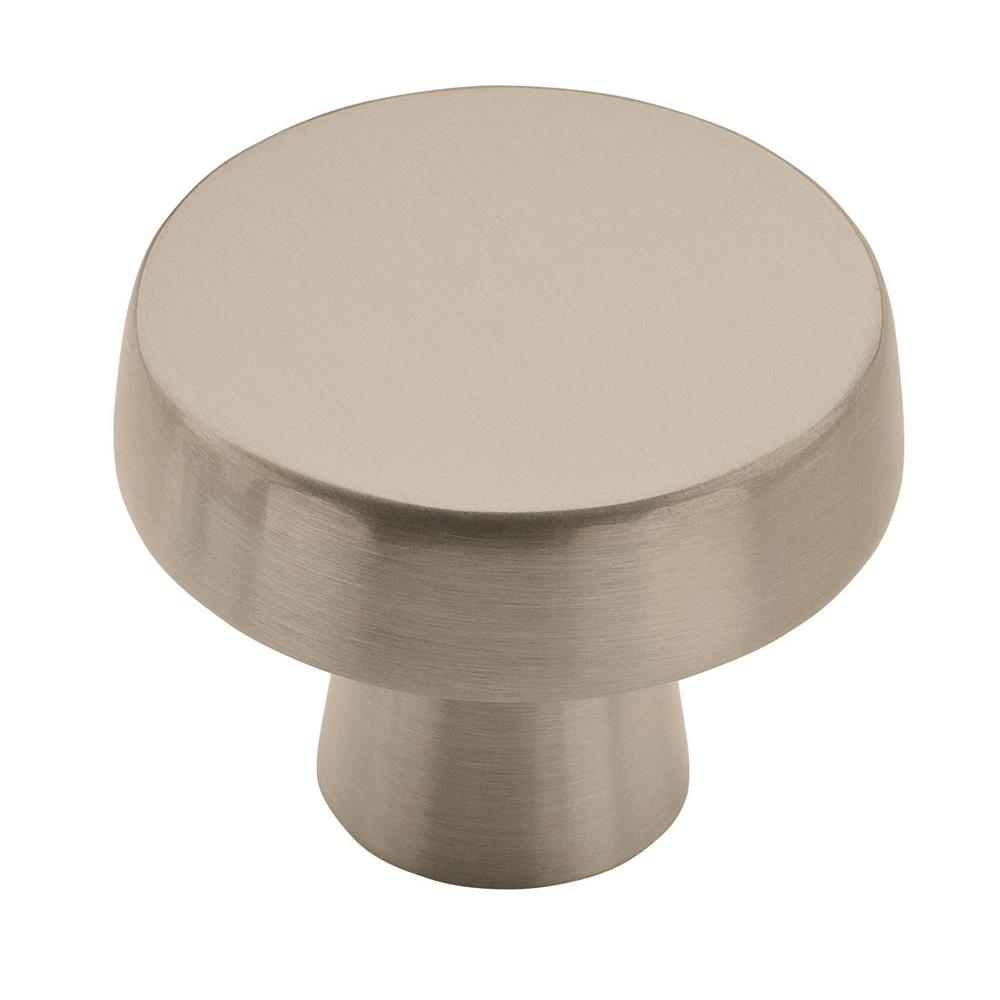 Amerock BP55272G10 Blackrock 1-3/4 in (44 mm) DIA Cabinet Knob - Satin Nickel
