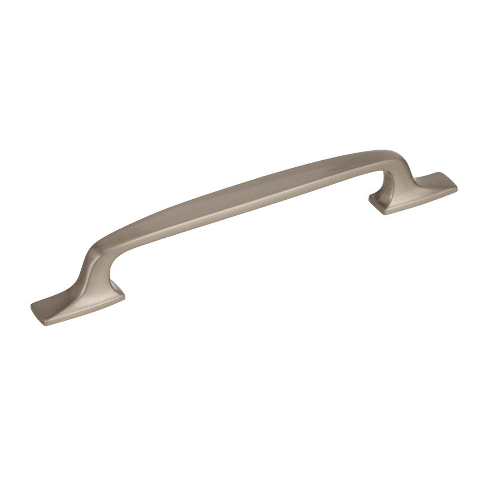 Best of Amerock BP55321G10 Highland Ridge 6-5/16 in (160 mm) Center-to-Center Satin Nickel Cabinet Pull