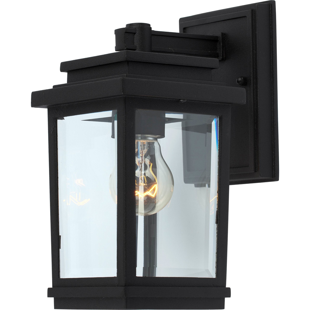 Artcraft Lighting AC8190BK Fremont 1 Light Outdoor Wall Light in Black