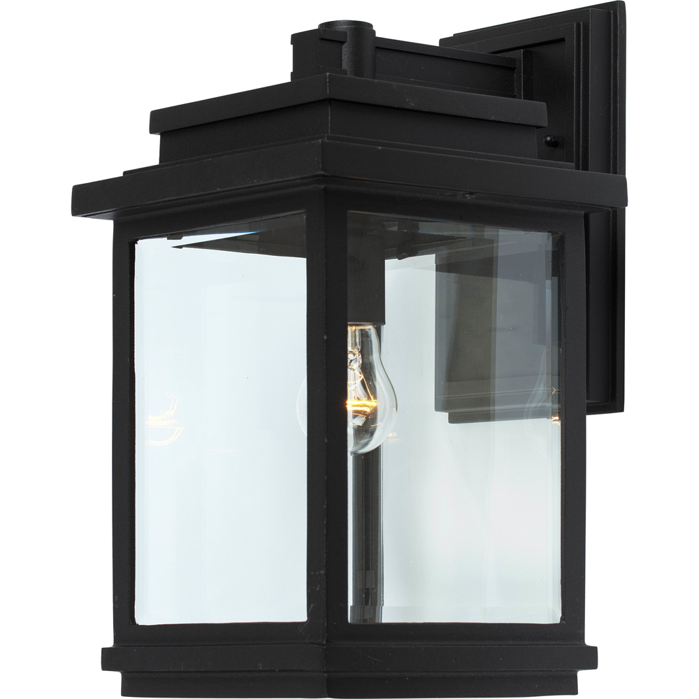 Artcraft Lighting AC8390BK Fremont 1 Light Outdoor Wall Light in Black